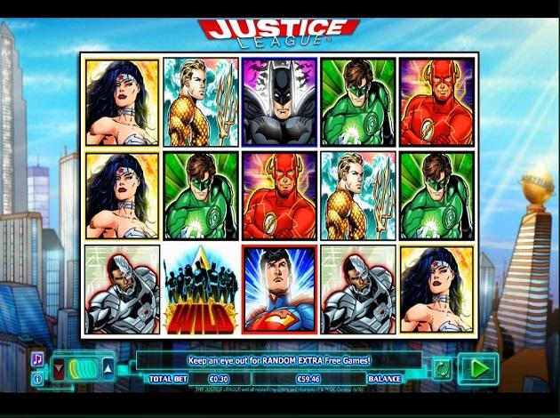 justice league casino