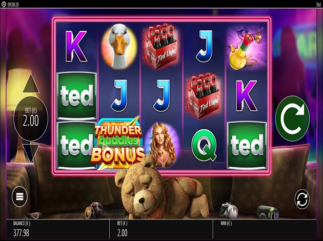 Play ted video slot free at videoslots malvernweather Image collections