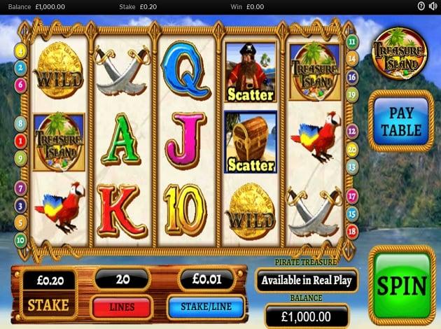 Spiele Treasure Island - Video Slots Online