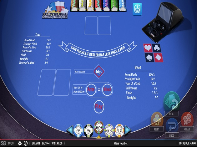 ultimate poker rules