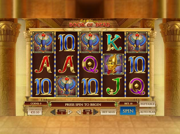 casino with book of dead