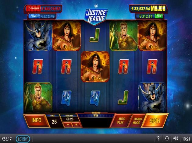 Spiele Justice League - Video Slots Online
