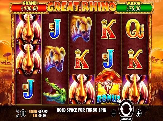 Download Great Rhino Pragmatic Play Images