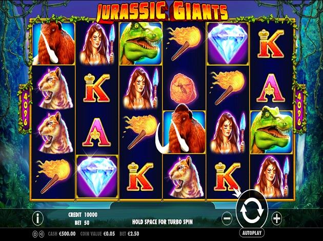 Jurassic Giants Free Play Slot Machine