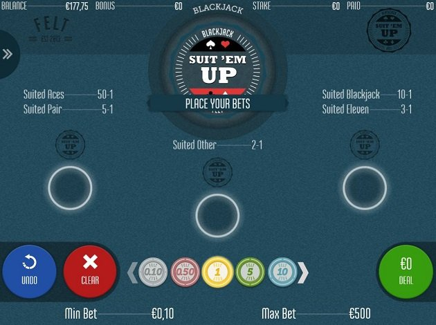 Suit 'em Up Blackjack – Online Blackjack Games