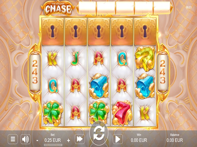 Play The Golden Chase Video Slot Free at Videoslots com
