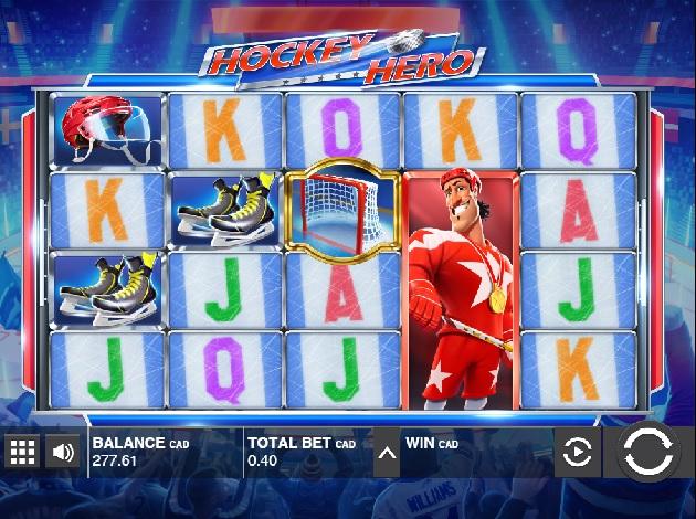 Hockey Hero Slot - Play this Game by Push Gaming Online