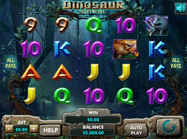Dinosaur Adventure Slots - Play the Online Slot for Free