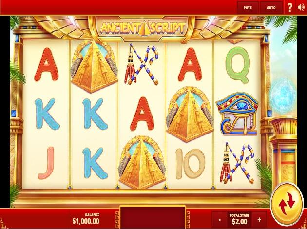 Spiele Ancient Script - Video Slots Online