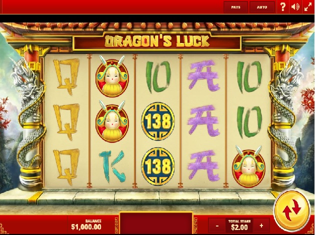 Dragons Luck Slot - Play Red Tiger Gaming Slots for Free