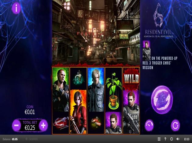 Play Resident Evil 6 Video Slot Free At Videoslots Com
