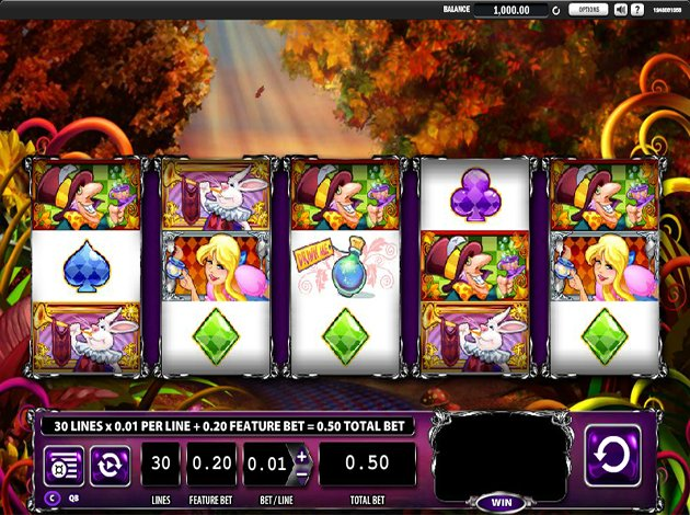 Free alice in wonderland slot games free poker bankroll tracker
