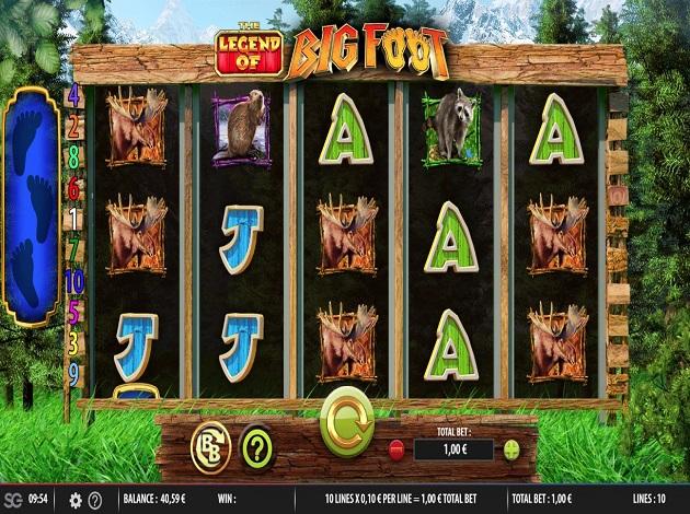 the legend of big foot casino