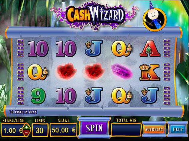 Play Cash Wizard Slots