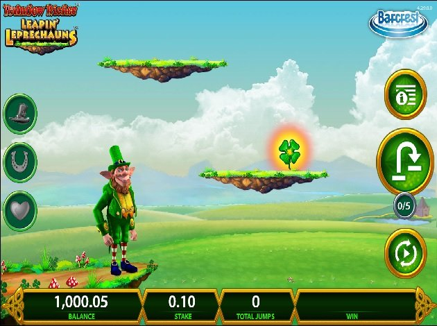 rainbow riches leapin leprechauns casino