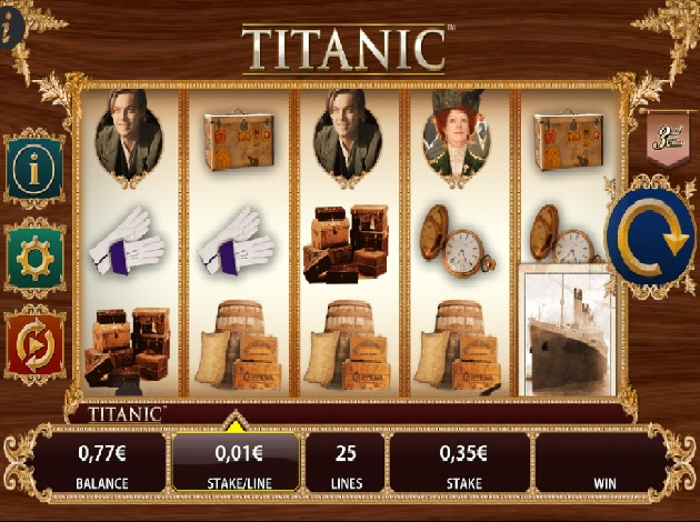 free titanic slots online