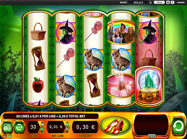 Ruby Slippers Slots Free Play & Real Money Casinos