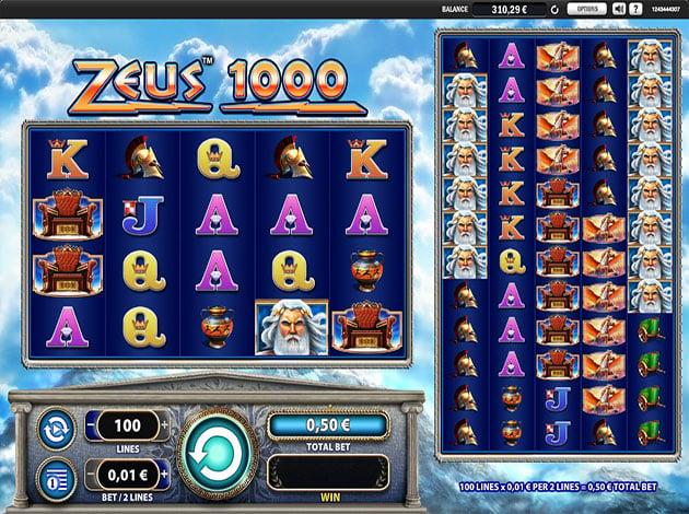 free zeus 1000 slot machine