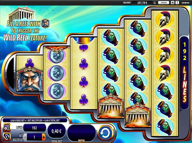 Zeus: King of Gods Slots - Play for Free With No Download