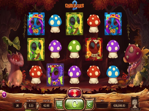 Chibeasties 2 Slot - Play Free Yggdrasil Gaming Slots Online