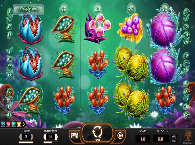 Fruitoids Slot Game by Yggdrail - Play it Free