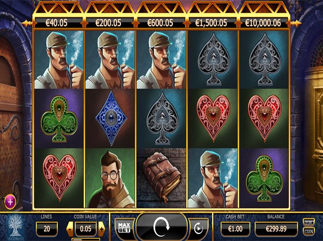 Spiele Holmes And The Stolen Stones - Video Slots Online