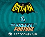 DC Batman and Mr Freeze Fortune