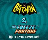 DC Batman and Mr Freeze Fortune