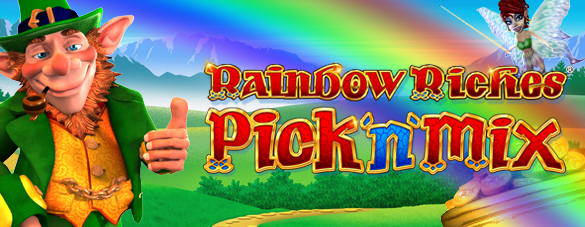 Image result for rainbow riches pick n mix logo
